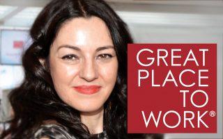 Ανθή Τσέντου, Senior Project Manager Great Place to Work® Hellas