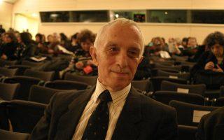 Ο Κώστας Ε. Τσιρόπουλος (1930-2017) σε φωτογραφία του Βασίλη Δ. Γόνη.
