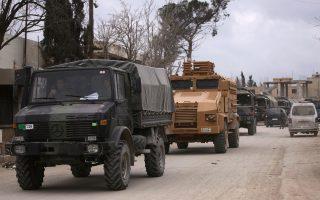 Οι τουρκικές δυνάμεις στη βόρεια Συρία δείχνουν την αδυναμία της Αγκυρας.