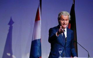 Αλλος ένας λαϊκιστής, αυτήν τη φορά ο Χερτ Βίλντερς, υπόσχεται να βγάλει την Ολλανδία από την Eυρωζώνη και την Ε.Ε.