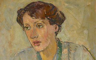 Η Βιρτζίνια Γουλφ, όπως τη ζωγράφισε η αδελφή της Βανέσα Μπελ. Από έκθεση-αφιέρωμα στη National Portrait Gallery του Λονδίνου.
