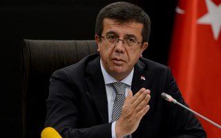 Σε συνέντευξή του στο δίκτυο CNN, ο υπουργός Οικονομικών της Τουρκίας Νιχάτ Ζεϊμπεκτσί, για να διασκεδάσει τις αρνητικές επιπτώσεις, υποστήριξε ότι ο πληθωρισμός θα υποχωρήσει τον Μάιο.