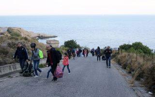 Η Χίος το τελευταίο χρονικό διάστημα μοιάζει να αποτελεί τον βασικό προορισμό προσφύγων και μεταναστών που φθάνουν από την Τουρκία.