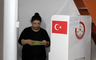 Στα προξενεία εκτός Τουρκίας η ψηφοφορία έχει αρχίσει.