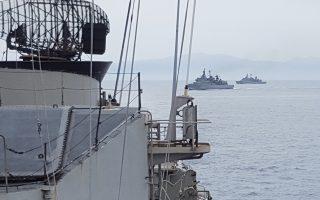 Πλοία του Πολεμικού Ναυτικού συμμετέχουν στην άσκηση «Αστραπή».