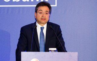 Ο διευθύνων σύμβουλος της Eurobank, Φ. Καραβίας.