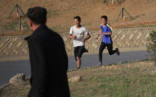 Κάτοικοι της Πιονγιάνγκ δεν μοιάζουν να ανησυχούν για το ενδεχόμενο όξυνσης της κρίσης μεταξύ της χώρας τους και των ΗΠΑ.