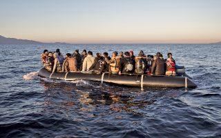 Μόνο στη Χίο, έφθασαν από τα τουρκικά παράλια τις τελευταίες ώρες 121 άτομα.