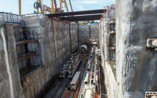 Η J&P Αβαξ συνεχίζει τις εργασίες στο έργο της επέκτασης του μετρό προς τον Πειραιά, το οποίο υλοποιεί από κοινού με τον ιταλικό όμιλο της Ghella.
