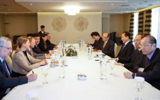 Ο κ. Cai Mingzhao  συναντήθηκε με αντιπροσωπεία της «Κ».
