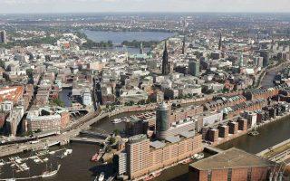 Στις πέντε μεγαλύτερες πόλεις της Γερμανίας, το Βερολίνο, την Κολωνία, την Φρανκφούρτη, το Αμβούργο και το Μόναχο, οι τιμές νεόδμητων κατοικιών αυξήθηκαν μεταξύ 20%-30% μέσα σε 12 μήνες.