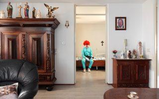 Εσωτερική όψη του στοιχειωμένου σπιτιού «Phobiarama» του Ντρις Φερχούβεν.
