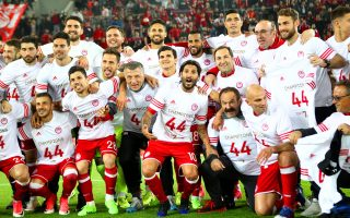 Με νίκη 5-0 επί του ΠΑΣ, ο Ολυμπιακός κατέκτησε το 44ο πρωτάθλημά του.