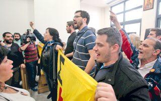 Το κίνημα κατά των πλειστηριασμών συνεχίζει, ανενόχλητο, τη δράση του.