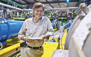 O Μάικλ Τατς συμμετείχε στο ΑTLAS, ένα από τα τέσσερα κύρια πειράματα του CERN.
