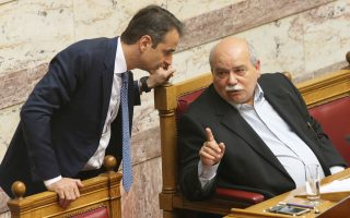 «Οι υπουργοί δεν προσέρχονται να απαντήσουν στις ερωτήσεις των βουλευτών», επισήμανε ο Κυρ. Μητσοτάκης στον Ν. Βούτση κατά τη χθεσινή τους συνάντηση.