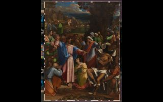 Η «Ανάσταση του Λαζάρου» (1517-19) του Σεμπαστιάνο σε συνεργασία με τον Μιχαήλ Αγγελο.