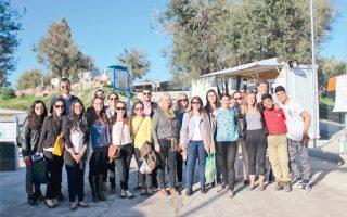 Δύο ημέρες στην Αθήνα και δύο στη Λέσβο, και δεκαοκτώ διαφορετικές συναντήσεις, ήταν ο απολογισμός της εκπαιδευτικής επίσκεψης των μεταπτυχιακών φοιτητών στις Διεθνείς Σχέσεις στο Πανεπιστήμιο Johns Hopkins.