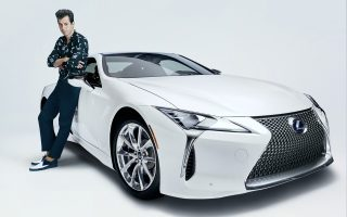 APRIL 11, 2017: Global music producer Mark Ronson collaborates with Lexus for 'Make Your Mark' campaign to celebrate the launch of the new Lexus LC(Photo by @gavinbondphotography for Lexus)