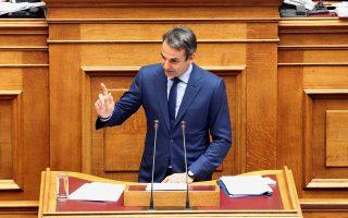 Πρώτη φορά, την περασμένη Τετάρτη στη Βουλή, ο πρόεδρος της Ν.Δ. κ. Κυριάκος Μητσοτάκης αμφισβήτησε τη λαϊκή νομιμοποίηση του κ. Τσίπρα.