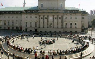 Γενική άποψη της Μπέμπελπλατς, στη διάρκεια εκδήλωσης που πραγματοποιήθηκε εκεί πριν από λίγα χρόνια.