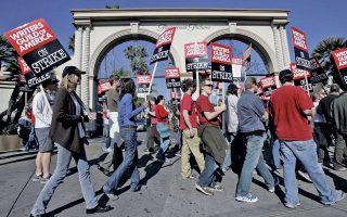 Την τελευταία στιγμή απεφεύχθη μια νέα μεγάλη απεργία των σεναριογράφων του Χόλιγουντ.