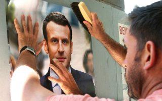 Θετικά συνέβαλε το δημοσκοπικό προβάδισμα του κεντρώου Εμανουέλ Μακρόν, ενόψει του δεύτερου γύρου των γαλλικών εκλογών. Το ευρώ αναρριχήθηκε χθες σχεδόν στο υψηλότερο εξαμήνου, φθάνοντας σε 1,0965 δολ.