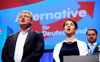 Η παραίτηση της Φράουκε Πέτρι από την πρώτη θέση του ψηφοδελτίου επέτεινε τα προβλήματα της AfD.