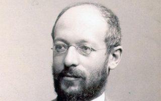 Ο Γερμανός κοινωνιολόγος και φιλόσοφος Γκέοργκ Ζίμελ (1858-1918).