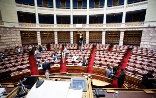 Η συζήτηση ξεκίνησε στις αρμόδιες επιτροπές και αύριο η διαδικασία θα συνεχιστεί στην Ολομέλεια. Στόχος, να ψηφιστεί το νομοσχέδιο της συμφωνίας αργά το βράδυ της Πέμπτης.