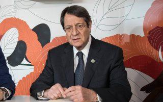 «Εχουμε εισηγηθεί δημιουργικά τον τρόπο που θα μπορούσε να μας οδηγήσει σε ουσιαστικό διάλογο αλλά και σε τελικό αποτέλεσμα»», είπε ο κ. Αναστασιάδης.