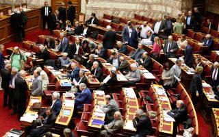 Σε πολωτικό κλίμα εξελίσσεται από τη Δευτέρα η διαδικασία στη Βουλή.