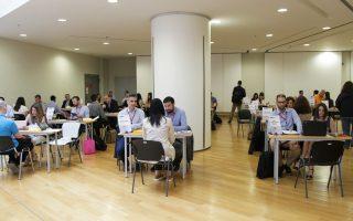 Εκθεση των εταιρειών και παρουσιάσεις ορισμένων από αυτών στους ενδιαφερομένους πραγματοποιήθηκε στο ΚΕΔΕΑ.