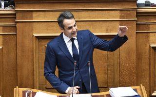 «Παγιδεύετε τη χώρα σε ένα μέλλον χωρίς προοπτική για να μείνετε στην εξουσία», είπε, από το βήμα της Βουλής, ο πρόεδρος της Νέας Δημοκρατίας Κυριάκος Μητσοτάκης.