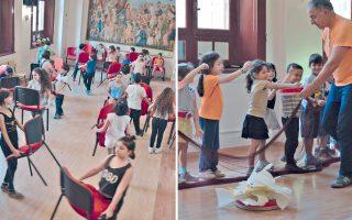 «Στόχος μας ήταν να οδηγήσουμε τα παιδιά σε μια καλλιτεχνική έκφραση», υπογραμμίζει στην «Κ», μιλώντας για το πρόγραμμα, ο υπεύθυνος της Ομάδας Τέχνης «Πάροδος», Ηλίας Πίτσικας.