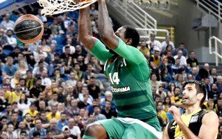 Οι «πράσινοι» συνέτριψαν με 105-67 την ΑΕΚ και προκρίθηκαν στους τελικούς της Α1.