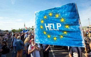 Τη βοήθεια της Ε.Ε. ζητούν μέλη της ουγγρικής αντιπολίτευσης.