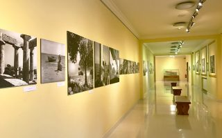 Ο χώρος της έκθεσης στο Ιδρυμα Ευγενίδου, στη λεωφόρο Συγγρού. Διάρκεια έως 4 Ιουνίου.