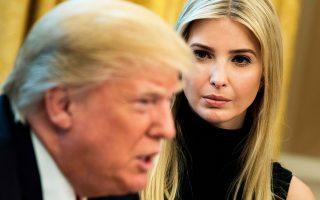 Η προσέγγιση της οικογένειας Τραμπ με τον πρόεδρο της Παγκόσμιας Τράπεζας, Γιμ Γιονγκ Κιμ, εγκαινιάστηκε τον περασμένο μήνα σε μια συνάντηση στον Λευκό Οίκο, αντικείμενο της οποίας ήταν το ταμείο για τη στήριξη της γυναικείας επιχειρηματικότητας, με κεφάλαια 1 δισ. δολαρίων.