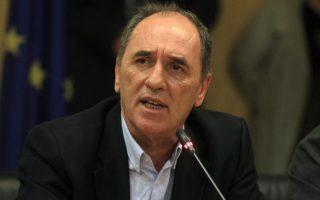 Ο υπουργός Περιβάλλοντος και Ενέργειας Γιώργος Σταθάκης.