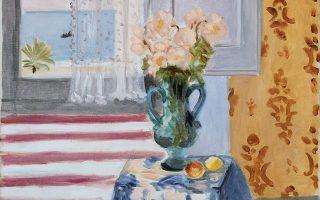 Βάζο με λουλούδια (1924). Εργο του Ανρί Ματίς από τη συλλογή του Μουσείου Καλών Τεχνών της Βοστώνης.