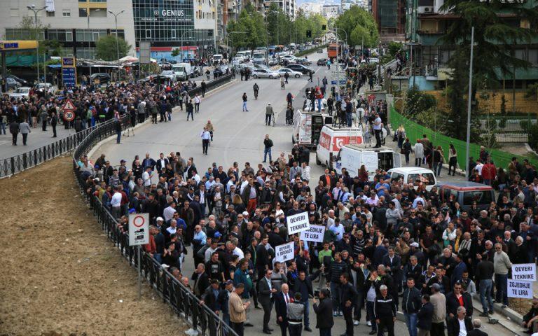 Σε δοκιμασία η ομαλότητα στην Αλβανία