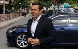 Ο πρωθυπουργός Αλ. Τσίπρας επέμεινε, από τη Θεσσαλονίκη, στο αφήγημα της πορείας προς την έξοδο από την κρίση.