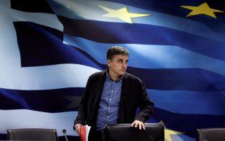 Ο υπουργός Οικονομικών Ευκλείδης Τσακαλώτος ίσως χρειαστεί να ξανασκεφτεί την πρόταση Γερμανίας και ΔΝΤ ενόψει του Eurogroup του Ιουνίου.