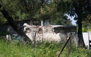 Το σπίτι που ζει η 22χρονη μητέρα με το μόλις 13 ημερών κοριτσάκι της και το 15 μηνών αγοράκι της.