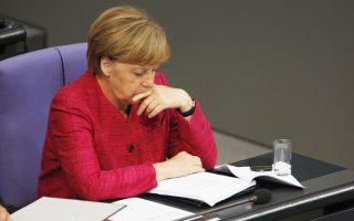 Η Γερμανίδα καγκελάριος Άνγκελα Μέρκελ.