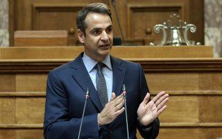 «Η Ελλάδα παραμένει φυλακισμένη στα ψέματα του Αλέξη Τσίπρα», είπε ο Κυρ. Μητσοτάκης από το βήμα της Κοινοβουλευτικής του Ομάδας.