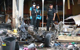 Δεκάδες οι τραυματίες από την έκρηξη παγιδευμένου αυτοκινήτου στο Πατανί.