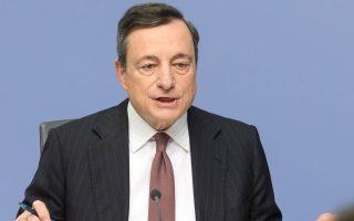 Οι τελευταίες εκτιμήσεις από την ΕΚΤ αναφέρουν ότι μόνο αν το ΔΝΤ συμμετάσχει πλήρως στο πρόγραμμα θα μπορέσει ο Μάριο Ντράγκι να εισηγηθεί ένταξη στο QE.