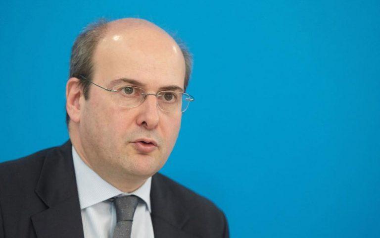 Χατζηδάκης: Τα κυβερνητικά αντίμετρα προϋποθέτουν το «ξεζούμισμα» της κοινωνίας